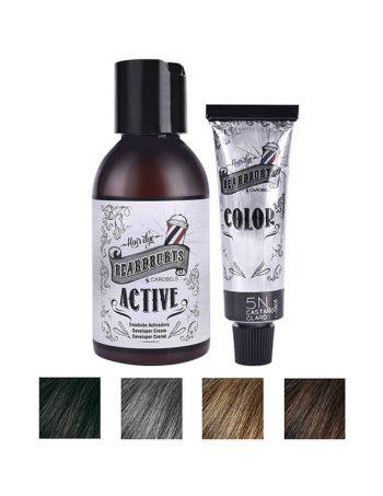 Polutrajna farba za kosu, bradu i brkove BEARDBURYS