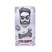Polutrajna farba za kosu, bradu i brkove BEARDBURYS siva 9G