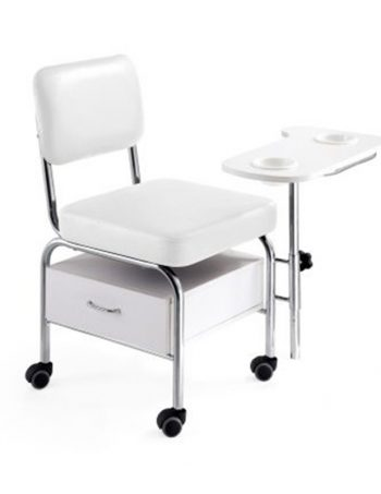 Pomocna radna stolica DP3501 sa naslonom za ruke i fiokom