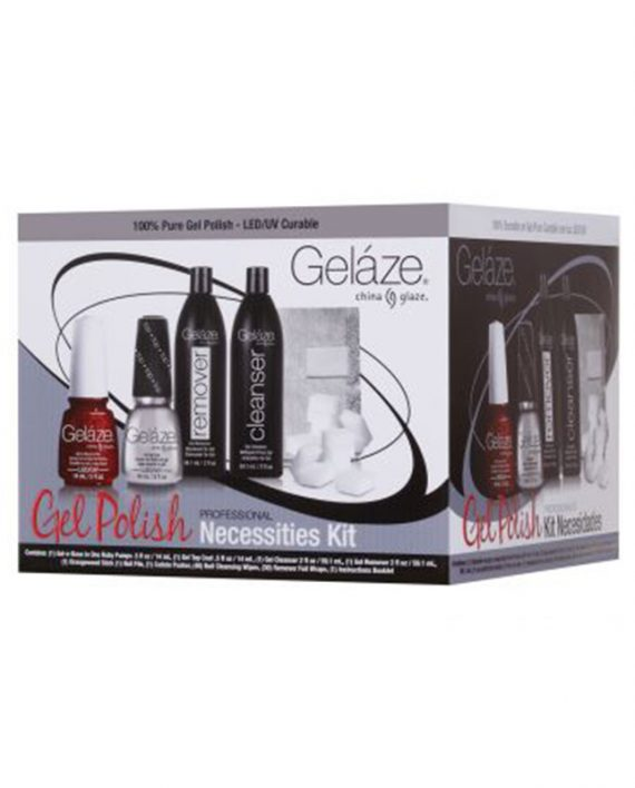 Profesionalni set za trajni manikir UV LED GELAZE Professional Necessities Set