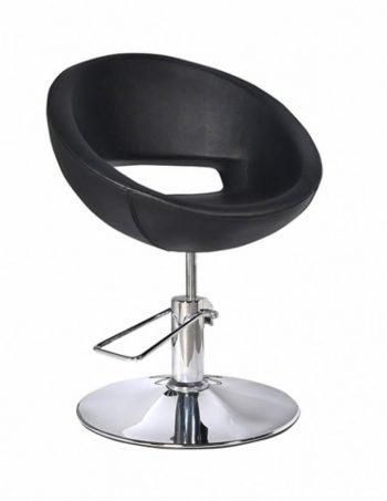 Radna stolica GETIK 6912 - P4(KRUG) crna