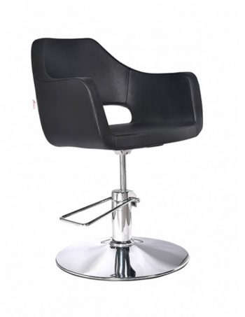 Radna stolica SAL 6956 - P4(KRUG) crna