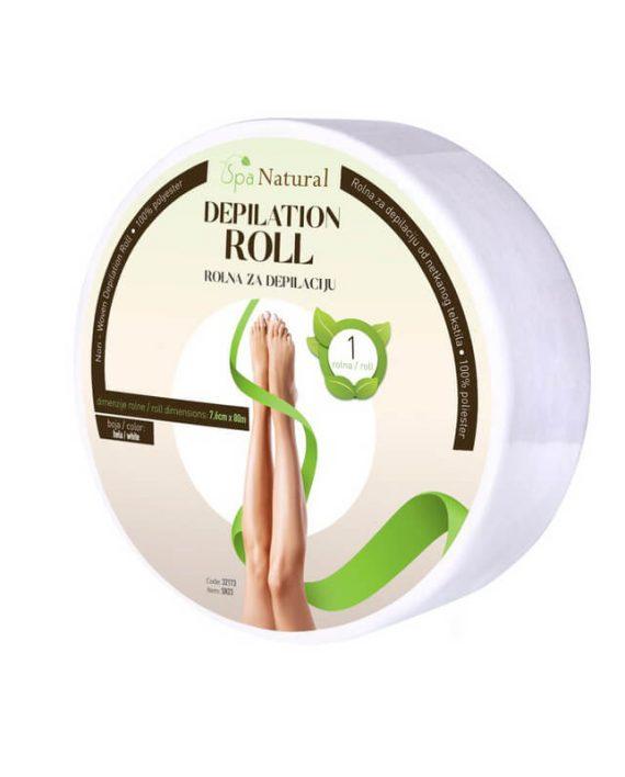 Rolna za depilaciju SPA NATURAL Bela SN23 80m
