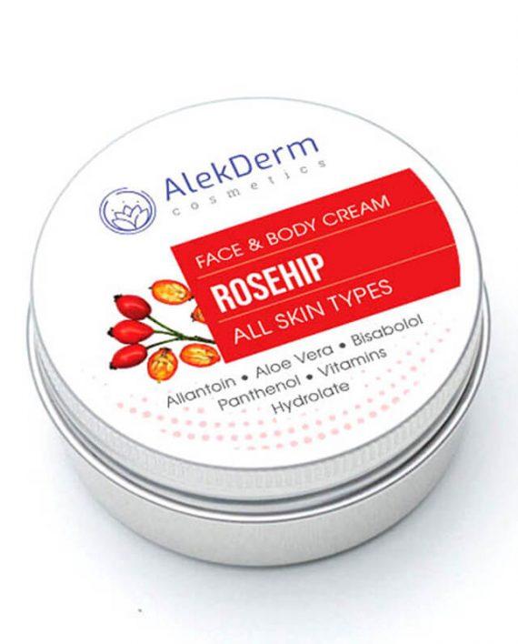Rosehip ruza – AlekDerm Face & Body Cream