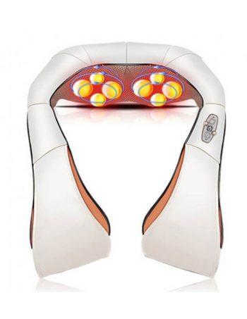 SHIATSU 3D Masazer za vrat, ramena, ledja i noge sa infracrvenim zagrevanjem