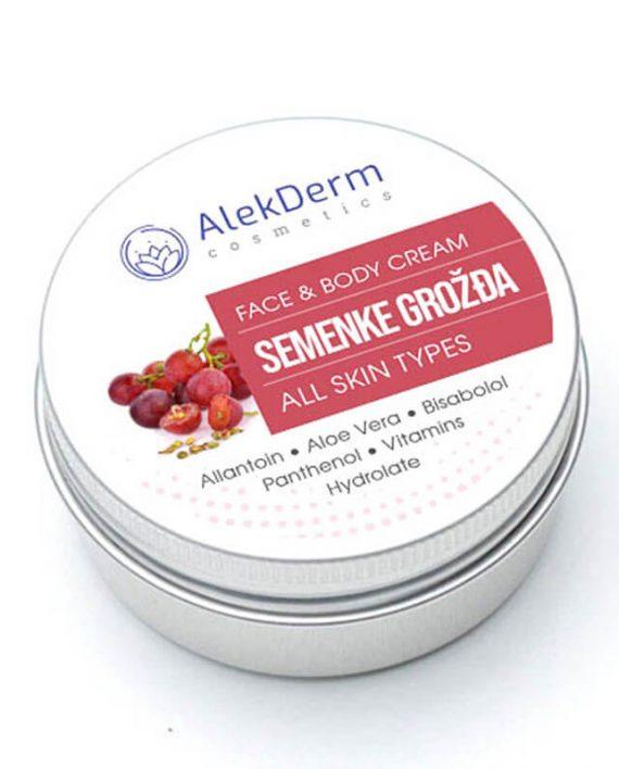 Semenke grozdja – AlekDerm Face & Body Cream