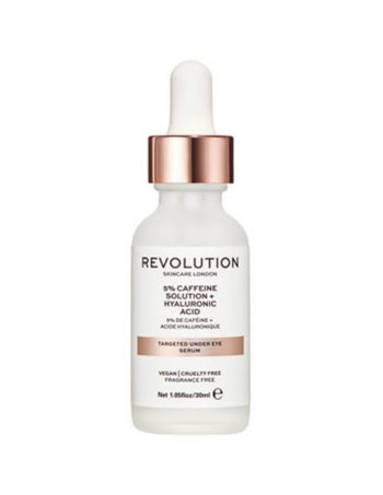 Serum za podocnjake REVOLUTION SKINCARE 5% Caffeine Solution and Hyaluronic Acid 30ml