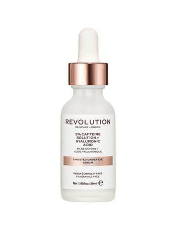Serum za podocnjake REVOLUTION SKINCARE 5% Caffeine Solution and Hyaluronic Acid 30ml