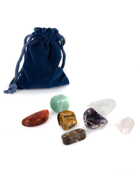 Set kamenja za masazu Chakra 7