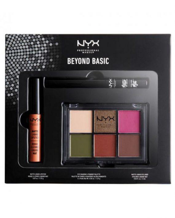 Set za sminkanje NYX Professional Makeup Beyond Basic LOOKSET17