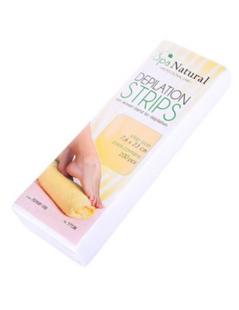 Trake za depilaciju SPA NATURAL Bele 1001