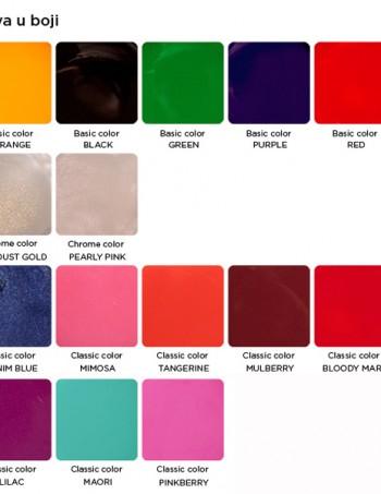 UV color gelovi u boji