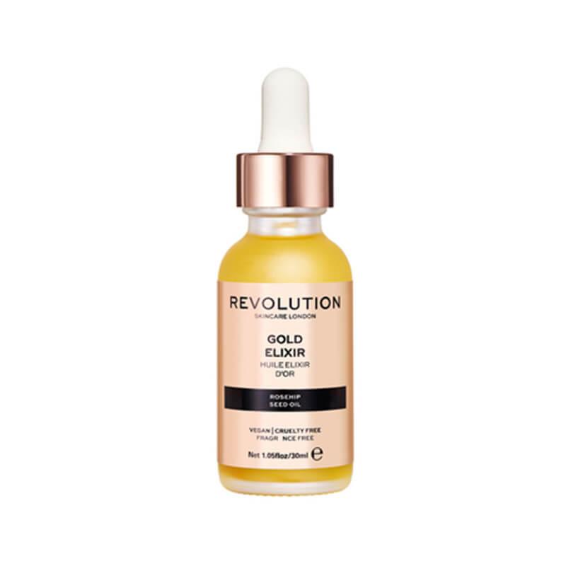 Ulje sa cesticama zlata za hidrataciju koze lica, REVOLUTION SKINCARE Gold Elixir 30ml