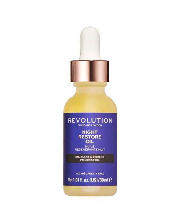 Ulje za regeneraciju koze lica REVOLUTION SKINCARE Night Restore Oil 30ml