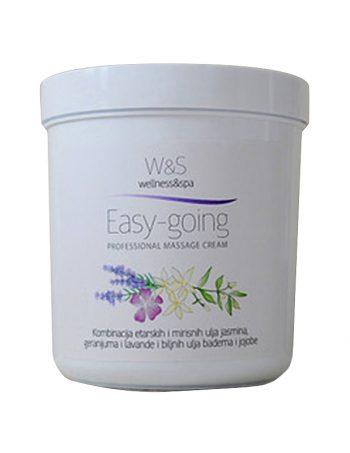 W&S profesionalne kreme za masazu Easy Going