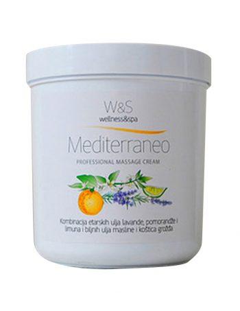 W&S profesionalne kreme za masazu Mediterraneo
