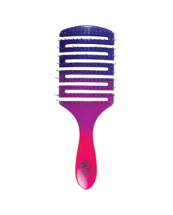 Wet brush Flex Dry Paddle Ombre purplepink cetke za kosu