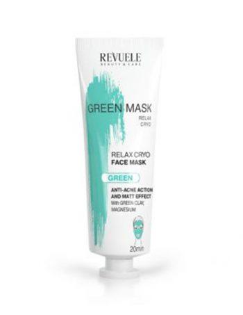 Zelena-maska-za-ciscenje-lica-sa-efektom-hladjenja-REVUELE-Anti-Acne-Cryo-Effect-80ml--1