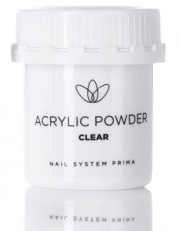 "Acrylic nail powder ""clear"""