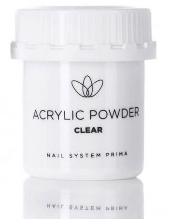"Acrylic nail powder ""clear"""