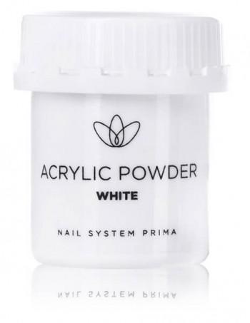 "Acrylic nail powder standard ""white"""
