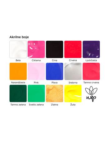 Akrilne boje za nail art