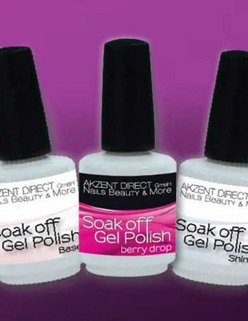 Akzent gel-lak Soak off gel polish