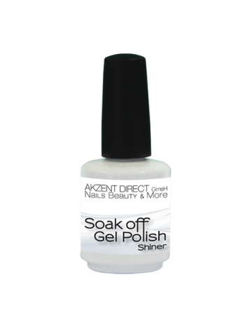 Akzent gel-lak Soak off gel polish shinerbaza