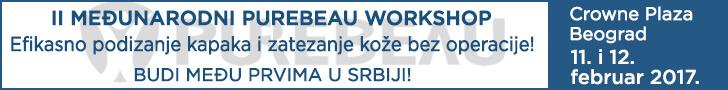 Drugi međunarodni Purebeau workshop na Balkanu 11. i 12. februar, hotel Crowne plaza, Beograd