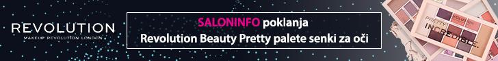 SALONINFO poklanja Revolution Beauty Pretty palete senke za oči