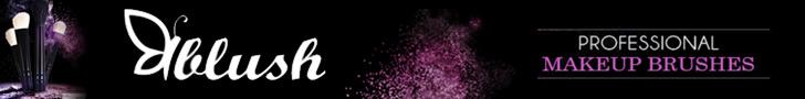 Blush - profesionalne četkice za šminkanje