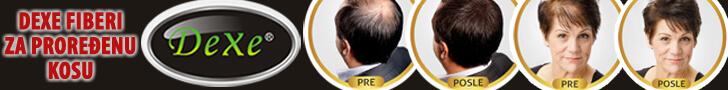 DEXE Fiberi za proređenu kosu
