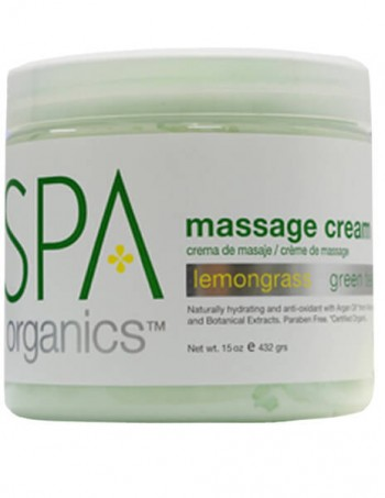 BCL SPA Lemon Grass Massage Cream 450 g
