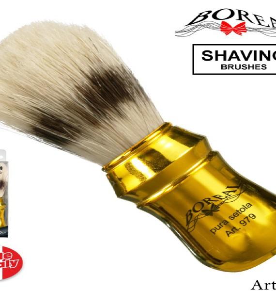 Boreal Četka za brijanje sa zlatnom drškom