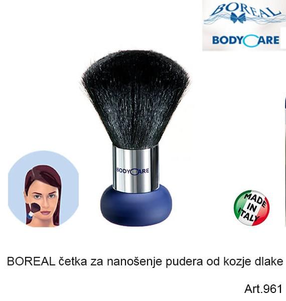BOREAL četka za nanošenje pudera (kozja dlaka)