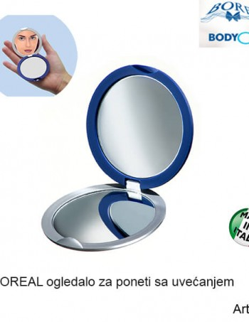 BOREAL džepno duplo ogledalo za dame