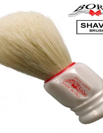 Četka za brijanje od prirodne čekinje sa plastičnom drskom