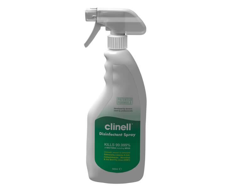 Clinell sprej za dezinfekciju površina - bez alkohola