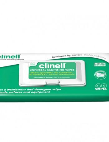 Clinell univerzalne maramice za dezinfekcija 40 kom