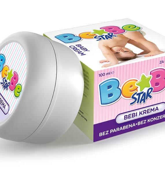 DEVI Be-Be Star bebi krema - akcija 1 + 1 gratis