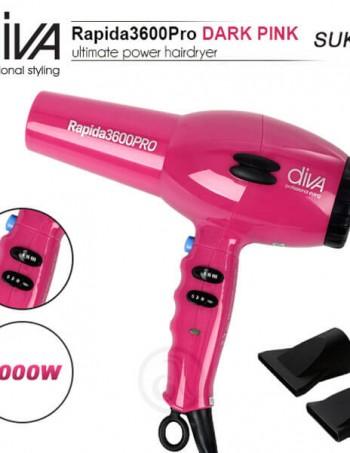 Fen za kosu DIVA Rapida 3600 Dark Pink