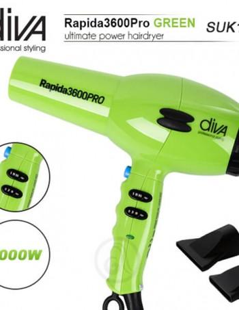Fen za kosu DIVA Rapida 3600 Green