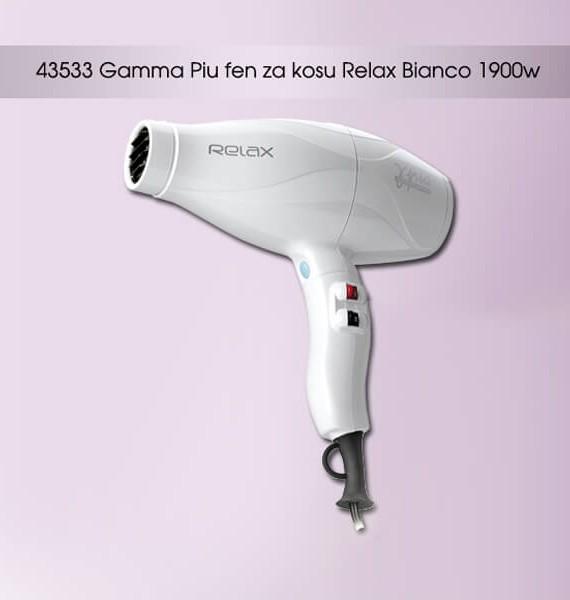 Fen za kosu Gammapiu RELAX - beli