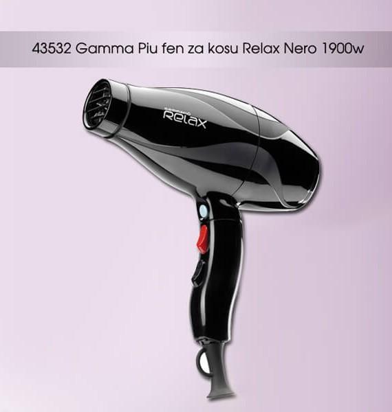 Fen za kosu Gammapiu RELAX - crni