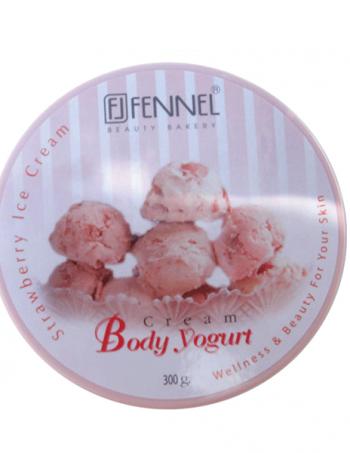 Fennel jogurt za telo Strawberry Ice Cream
