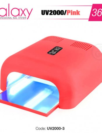 GALAXY UV Lampa 36W Pink