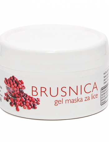 Gel maska BRUSNICA