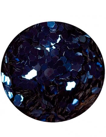 Glitter prah AB DENIM BLUE