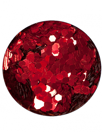 Glitter prah AB RED