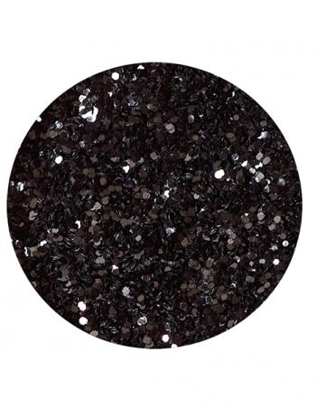Glitter prah BLACK